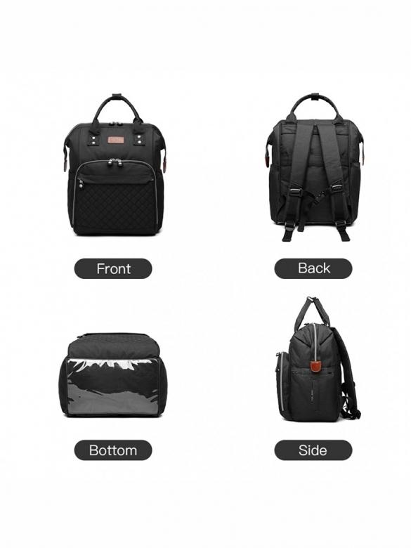 Μαύρο Backpack για Καρότσι