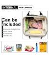 Γκρι/Μοβ Τσάντα για βόλτα μωρού