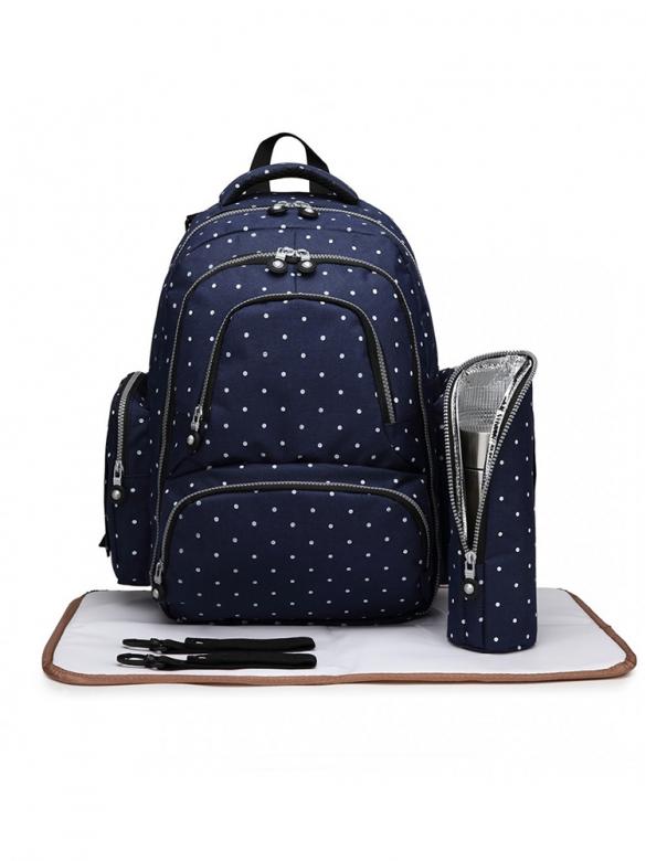 Μπλε Backpack για μανούλες