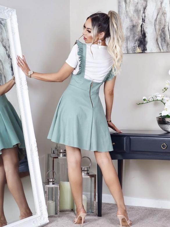 Φόρεμα Σαλοπέτα σε Μέντα