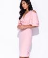 Ροζ Φόρεμα Midi