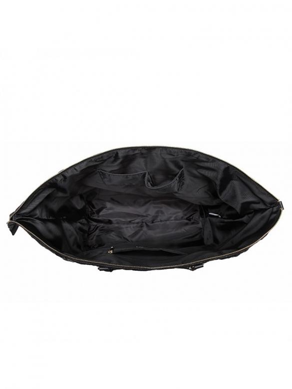 Mεγάλη Μαύρη Τσάντα Γυμναστηρίου - Ταξιδίου