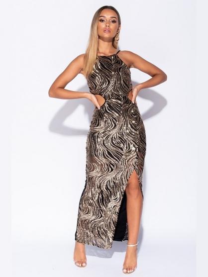 φορεμα-μακρυ-παγιετες-μαυρο-καλο-βραδινο-σεξυ-7