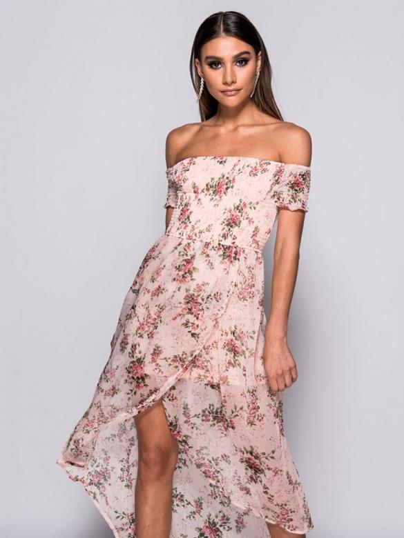 Daphne Φλοράλ Φόρεμα