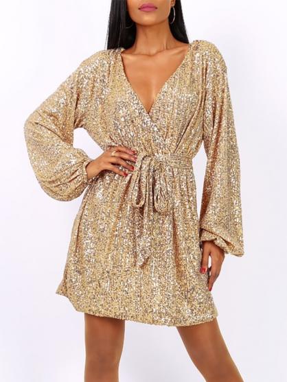 φορεμα-χρυσο-παγιετες-επισημο-καλο-χειμωνιατικο-ρεβεγιον-γαμο-βαπτιση-χριστουγεννα-2