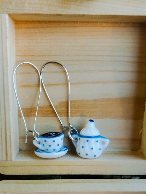 Coffee or Tea Σκουλαρίκια