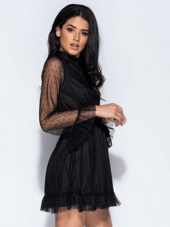Juliet Μαύρο Φόρεμα