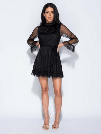 Sukienka-Czarna-z-Koronki-z-Długim-Rękawem-Secret-Wish-Boutique-6