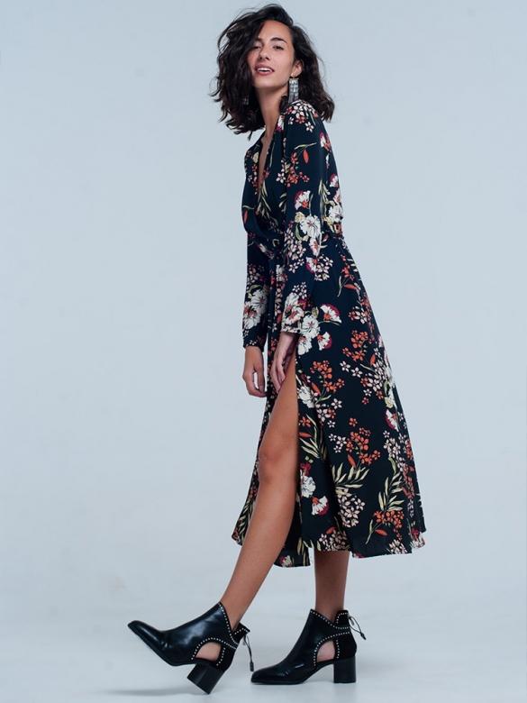 PopSugar Floral Φόρεμα