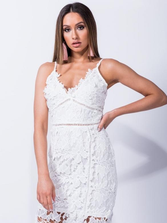 Speechless Άσπρο Φόρεμα