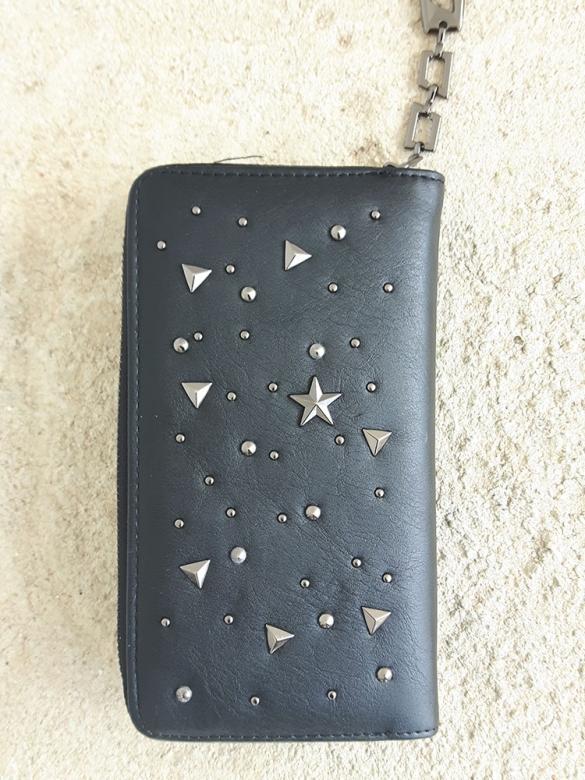 Black Starry Πορτοφόλι