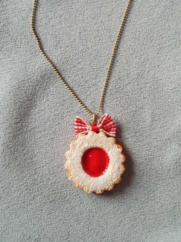 Μπισκότο Φράουλα Κρεμαστό