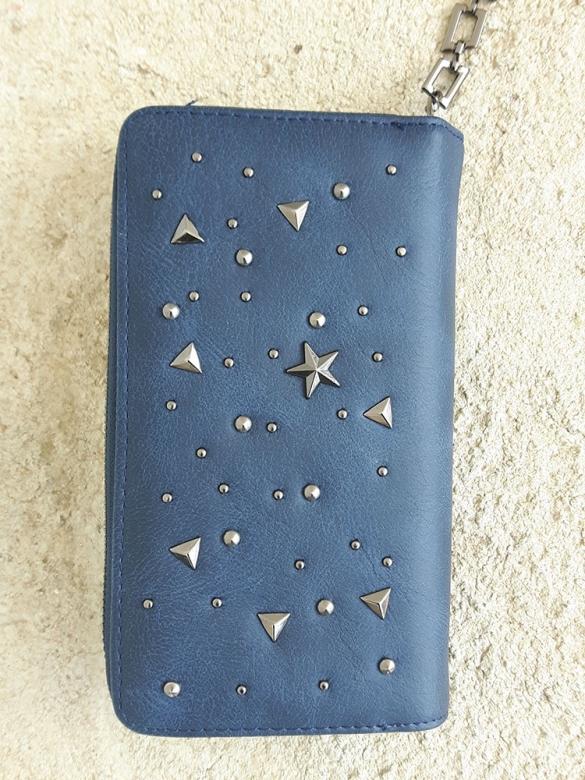 Blue Starry Πορτοφόλι