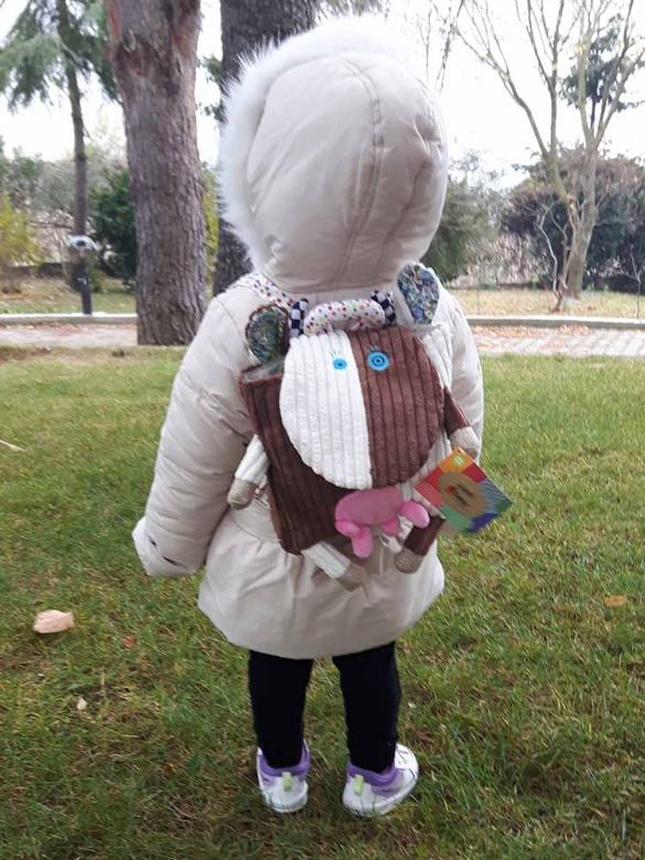 Παιδική Τσάντα Αγελαδίτσα