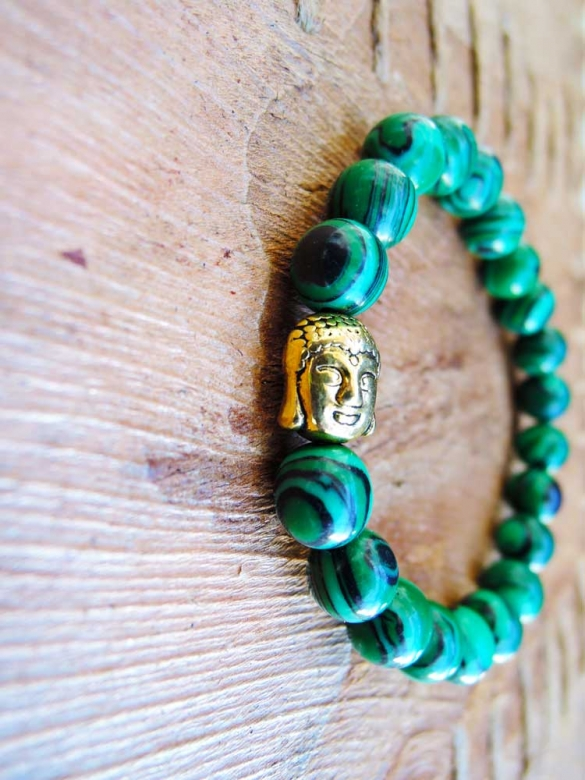 Buddha Πράσινο Bραχιόλι