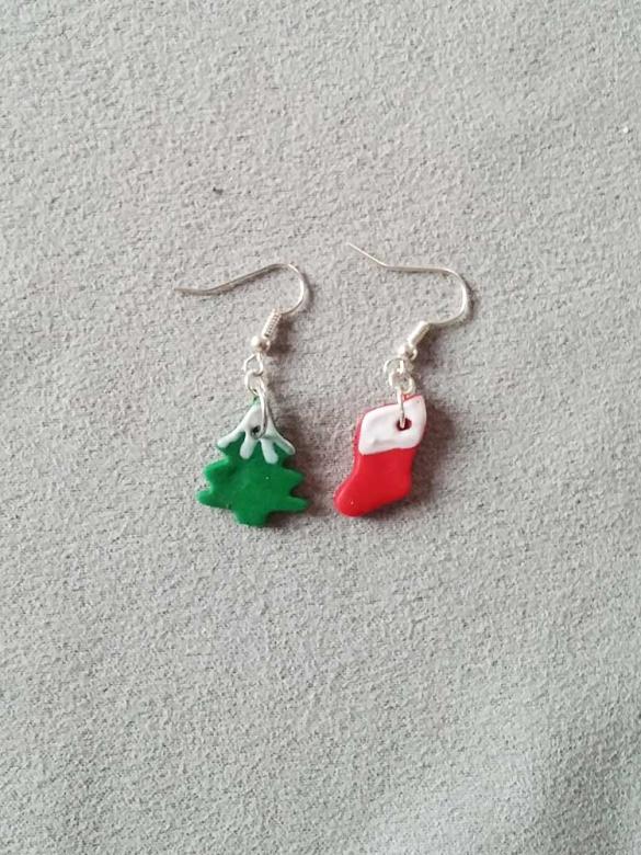 Christmas Tree Σκουλαρίκια