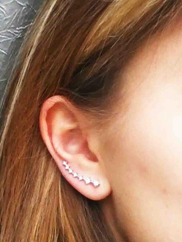 7-Perls Σκουλαρίκια