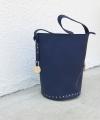 Blue Chic Bucket Τσάντα Ώμου