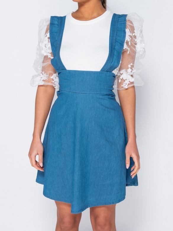 Τζιν Φόρεμα Σαλοπέτα
