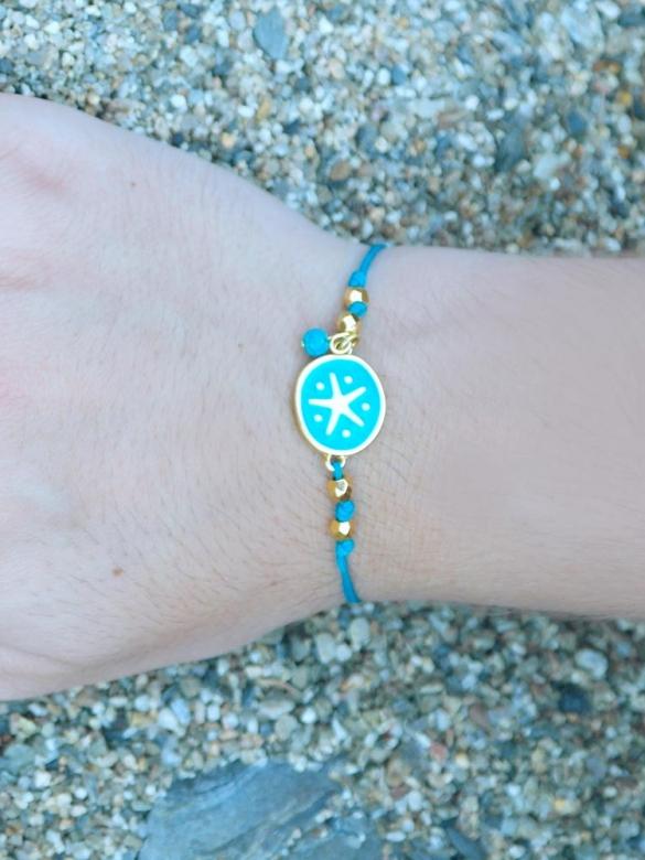 Sea Green Starfish Βραχιολάκι